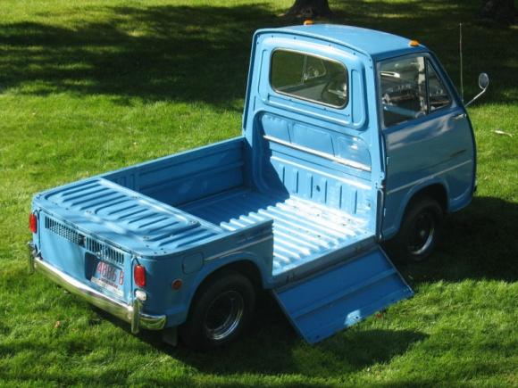 Proof That Subaru Once Made Cool Trucks The 1969 Subaru Sambar 360