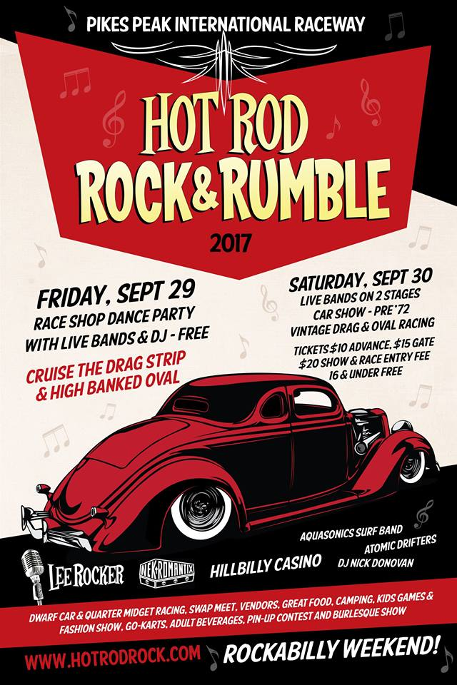 Rockabilly Bliss Hot Rod Rock And Rumble At The Pikes Peak - Old school car show colorado springs